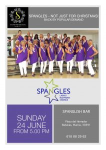 Spangles at Spanglish @ Restaurante Spanglish