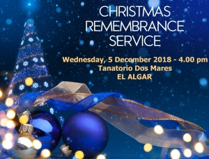 Christmas Remembrance Service @ Tanatorio Dos Mares