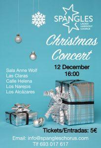 Spangles Christmas Concert @ Sala Anne Wolf, Las Claras