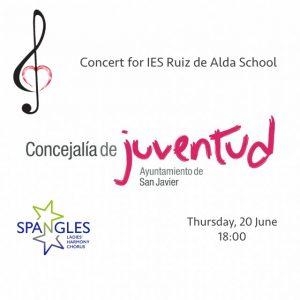 IES Ruiz de Alda Concert @ Concejalía de Juventud de San Javier