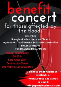 Concierto Benefico @ Centro Cultural Las Claras