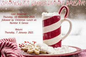 SPANGLES CHRISTMAS BREAK